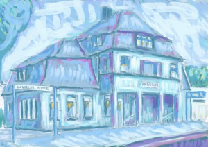 Bahnhof Hangelar #2 - digital  3508 x 2480 px 2016